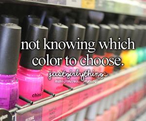 nails, nail polish, and color image