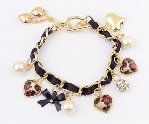 bracelet, cute, and bow image