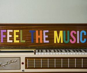 music, feel, and piano image