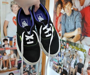 vans, shoes, and one direction image