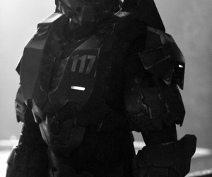 halo, spartan, and master chief image