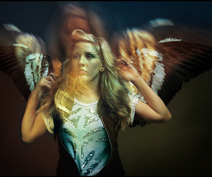 Ellie Goulding, light, and wings image