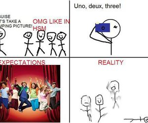 funny, lol, and HSM image