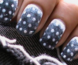 dots, gradient, and nails image