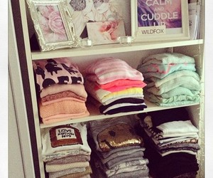 clothes, closet, and girly image