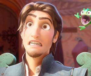 pascal, tangled, and cute image