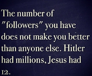 jesus, followers, and quote image
