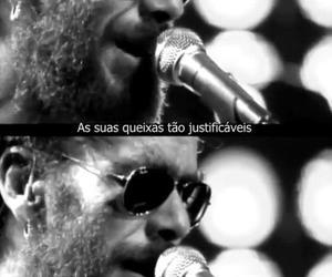 nando reis, black and white, and brazil image