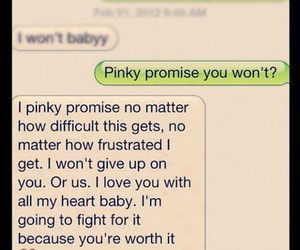 pinky promise