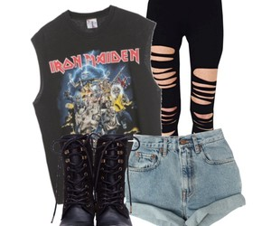 outfit and rock image