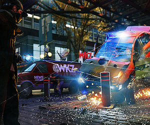 videogame, watch dogs, and aiden pearce image