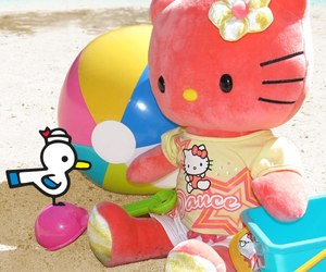 hello kitty, build a bear, and kawaii image