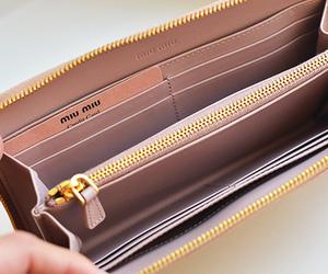 miu miu and wallet image