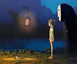 chihiro, anime, and gif image