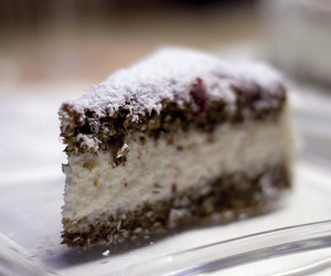 cake, tasty, and coconut image