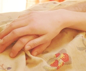 hands, sarah, and love image