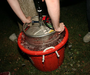 party, keg, and alcohol image