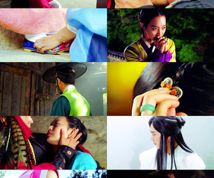 lee jun ki, shin min ah, and arang image