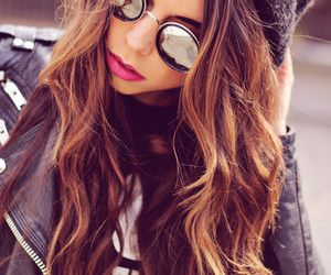 beautiful, brunette, and cool image