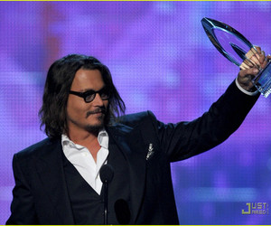 johnny depp and people choice awards image