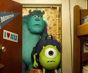 monster, mike, and disney image