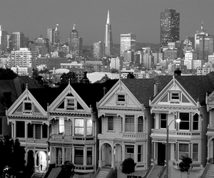 san francisco, house, and city image