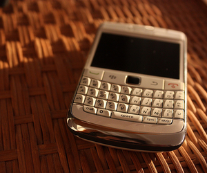 blackberry, phone, and photography image