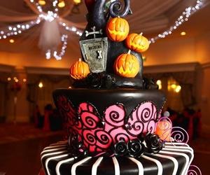 cake, Halloween, and food image