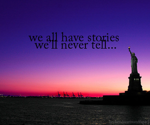 nyc, story, and sunset image