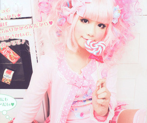 asian, candy, and fashion image