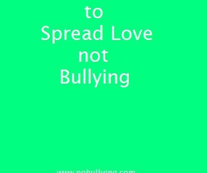 bully, loveyourself, and stopbullying image