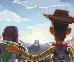 toy story, disney, and woody image