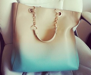 bag, fashion, and ombre image