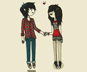 adventure time, love, and marceline image