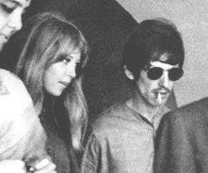 george harrison, pattie boyd, and cute image