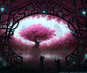 phantasy, anime, and industrial-forest image