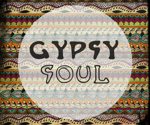 gypsy soul and typography image