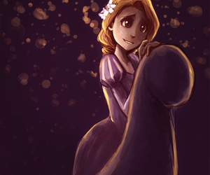 fan art and tangled image