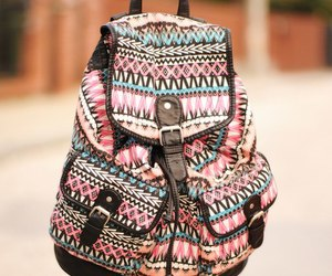 backpack, bag, and music image
