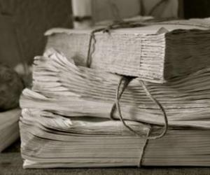 antique, distressed, and books image