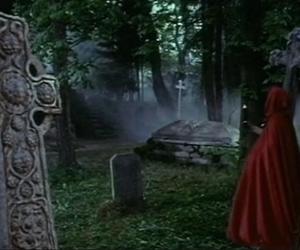 black magic, british, and cemetery image
