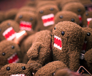 domo kun, toy, and photography image