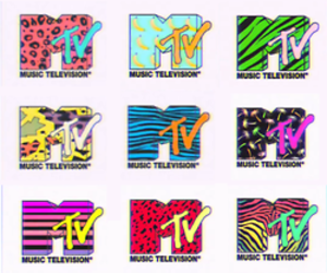 mtv, music, and colorful image