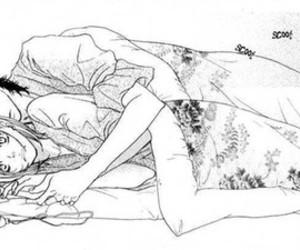 bed, kawaii, and Relationship image