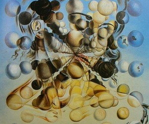 painting, paintings, and surrealism image