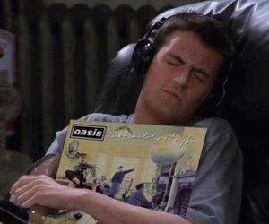 oasis, friends, and chandler bing image