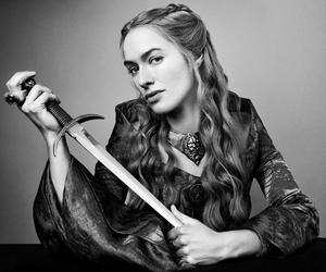 game of thrones, cersei, and lena headey image