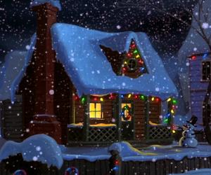 christmas, disney, and home image