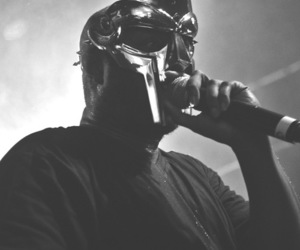 black and white, doom, and hip hop image
