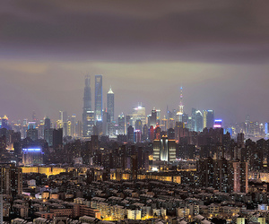 china, cityscape, and cloud image